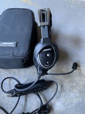 Bose A20 Aviator Headset for Sale in Providence, RI