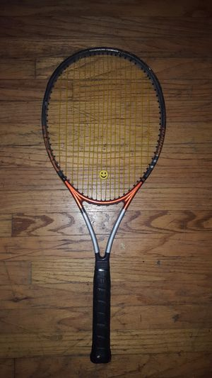Racket and tennis ball hopper. for Sale in Oakland, CA