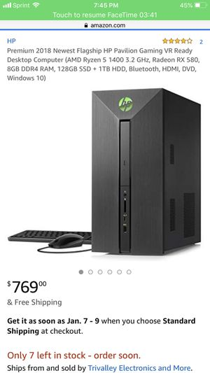 Desktop gaming computer for Sale in St. Louis, MO