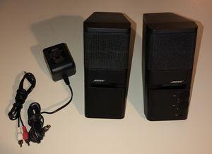 BOSE Black MediaMate Computer Speakers Desktop for Sale in Alexandria, VA