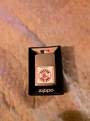 Zippo lighter red Sox for Sale in Fall River, MA