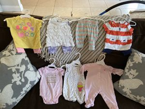 0-6 mo baby girl clothing lot for Sale in Fort Lauderdale, FL