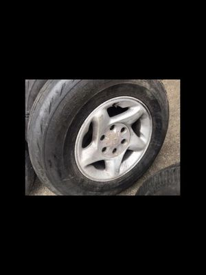 Tacoma Alloys (set of 4), tires are NOT GOOD RIMS FIT MANY OTHER MAKES for Sale in Annandale, VA