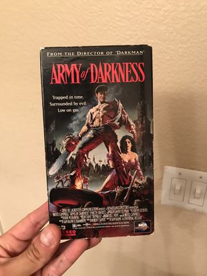 Army of darkness vhs tape for Sale in Phoenix, AZ