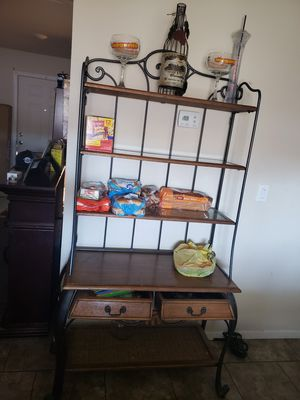 Rod iron Bakers rack for Sale in Mesa, AZ