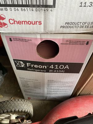 2-25lbs Freon 410A for Sale in Queens, NY