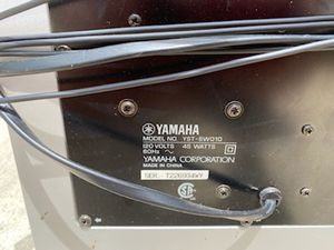 Yamaha yst-sw010 subwoofer for Sale in Columbus, OH
