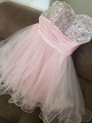 Pink homecoming/ prom dress sz S for Sale in Garrison, MD