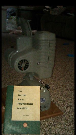 8mm movie projector for Sale in Ontario, CA