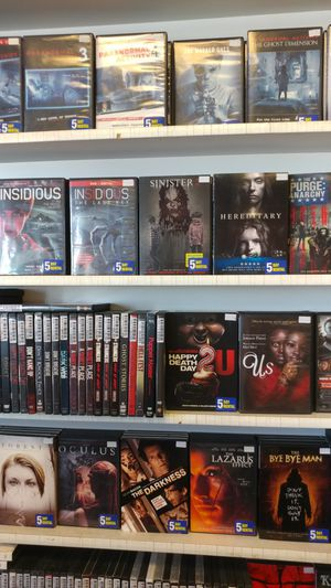 All Horror movies Special Sale/4for$10 & 5for$5 for Sale in West Covina, CA