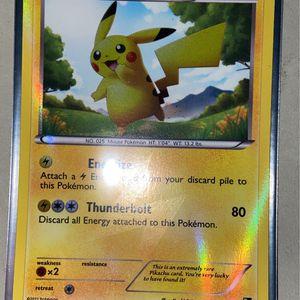 Pikachu Holo Rare 115/114 for Sale in Everett, WA