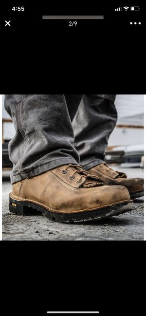 Danner QUARRY USA DISTRESSED BROWN ALLOY TOE size 10 for Sale in Dearborn, MI