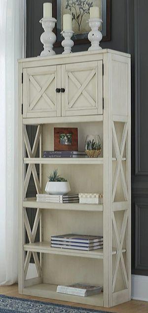 💢Bolanburg White/Oak Large Bookcase for Sale in Houston, TX