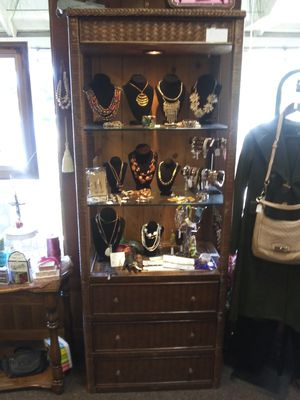 Wicker display case for Sale in Bend, OR