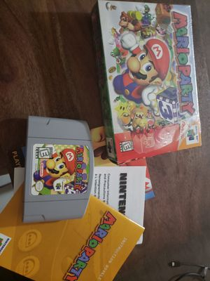 Mario party 3 n64 for Sale in Dartmouth, MA