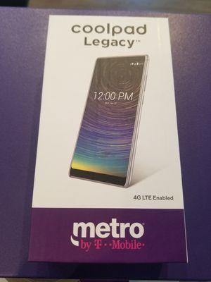 "Huge Screen Metro Pcs Coolpad Legacy 32gb 6.3"" LCD phone New in Box for Sale in Berkeley, CA"