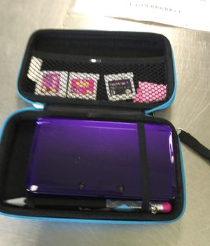 Nintendo 3ds with 3 games and Case, no charger for Sale in Matawan, NJ