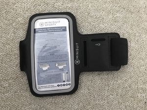 Minisuit black cell phone and key sporty arms band for Sale in Miami, FL