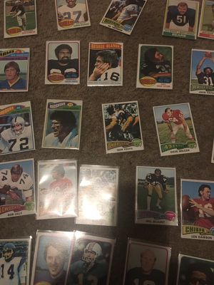 Rare 1970s football cards in mint condition for Sale in Sweet Home, OR