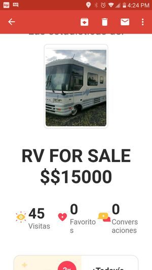 RV BUS ALL INSIDE for Sale in Hollywood, FL