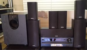 Onkyo HT-S5500 7.1 surround sound for Sale in Fontana, CA