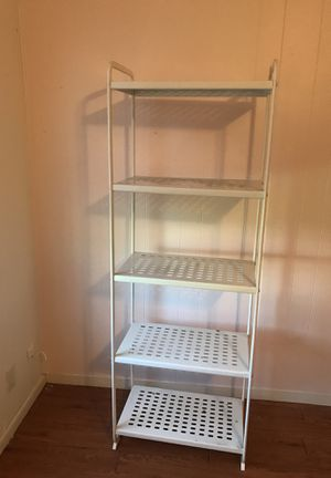 White shelves metal for Sale in Austin, TX