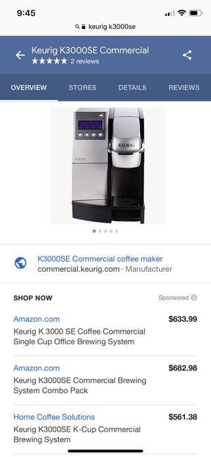 Keurig Commercial Machine ***BrandNewInBox**** for Sale in Bellflower, CA