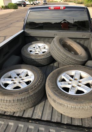 Gmc rims 17 inch for Sale in Fort McDowell, AZ