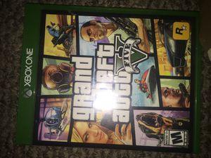 Grand theft auto 5 Xbox one for Sale in Montgomery, AL