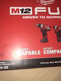 MILWAUKEE M12 KIT NEW IN BOX for Sale in Everett,  WA