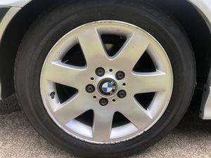 "BMW 16"" alloy wheels w/ tires 5x120 lug pattern (e36) for Sale in Mililani, HI"