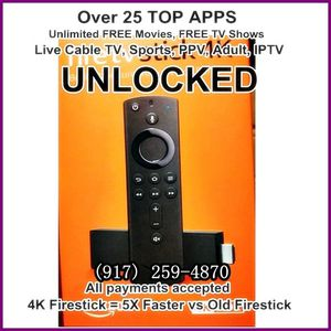 4k fire TV stick Brand New for Sale in New York, NY
