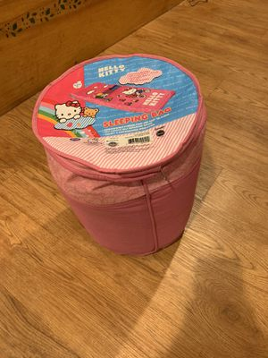 Childrens Hello Kitty Sleeping bag for Sale in Bridgewater, MA