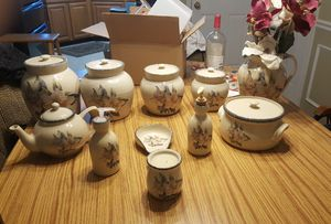 Canister set, table arrangment for Sale in Inwood, WV