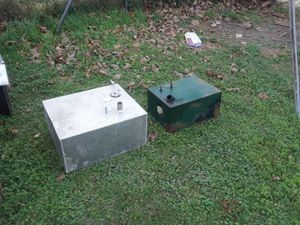 Aluminum and metal gas tanks for Sale in Victoria, TX