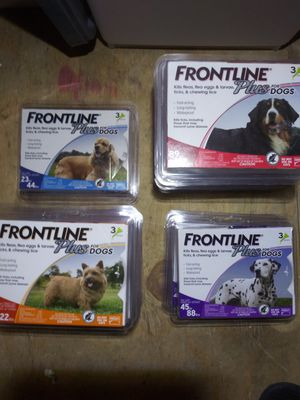 Frontline Plus for dogs and cats for Sale in Las Vegas, NV