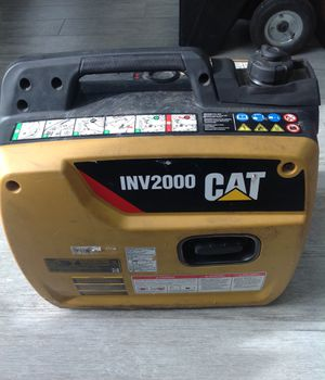 CAT INV2000 GAS POWERD INVERTER GENERATOR for Sale in Dearborn Heights, MI