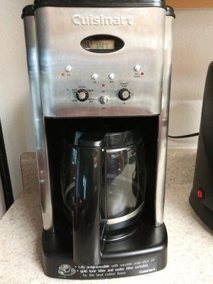 Cuisineart Coffee Maker for Sale in Tacoma, WA