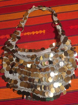 Sparkly Silver Sequined Purse for Sale in Altadena, CA