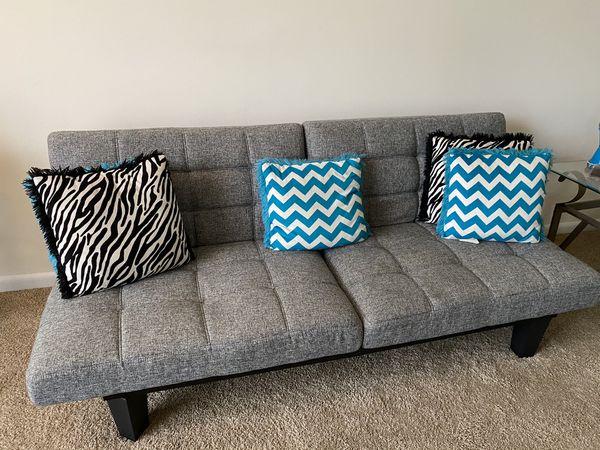 Grey Futon Sofa Bed