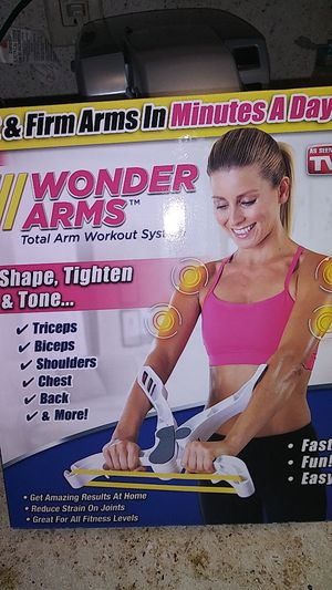 As Seen On TV Wonder arms total arm workout system for Sale in Knoxville, TN