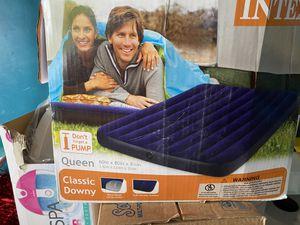 Queen air mattress 60x80 for Sale in Dallas, TX
