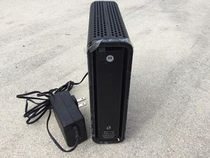 Motorola surf board modem/router for Sale in North Port, FL