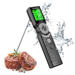 Instant Read Meat Thermometer for Cooking, Grilling, BBQ, Baking, Turkey - Mini6 IP65 Digital Waterproof Kitchen Food Thermometers with Large 3 Colors for Sale in Annandale,  VA