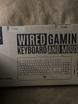 Gaming Keyboard And Mouse for Sale in Virginia Beach,  VA