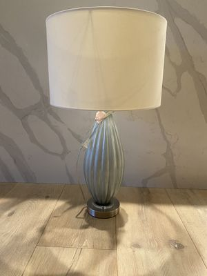 Blue Glass Table Lamp for Sale in Yorba Linda, CA