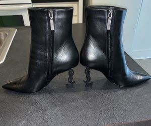 Authentic Saint Laurent heeled boots for Sale in Washington, DC