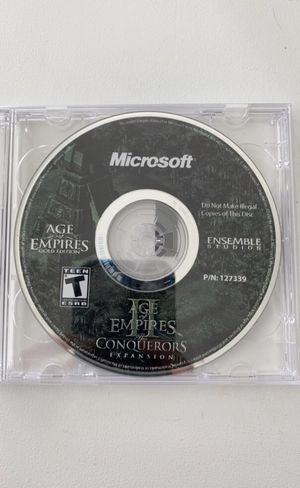 Age of Empires 2 The Conquerors Expansion PC Game for Sale in Millsboro, DE