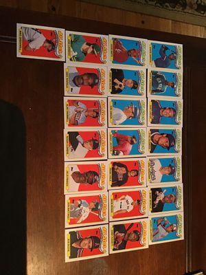 22 1989 All Star Cards form Topps Baseball Collection for Sale in Wichita, KS