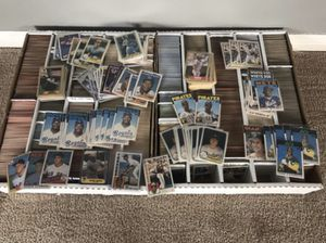 6,200+ Baseball Card Lot with Rookies Bonds Mattingly Bo Jackson Canseco 1980's - early 1990's Baseball Cards for Sale in Las Vegas, NV